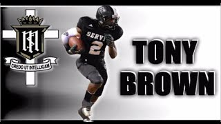 Tony Brown (Servite High, CA)  Class of 2015 - Junior Year :  Mid Year Highlights