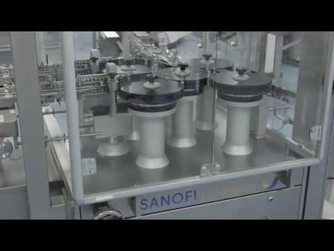 Flu vaccine production at Sanofi Pasteur - YouTube