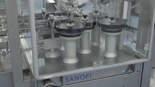Flu vaccine production at Sanofi Pasteur