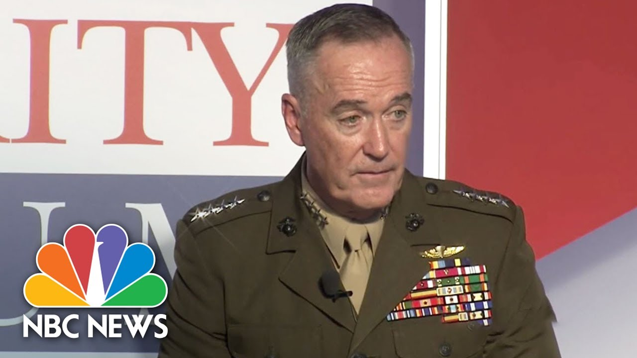 general joseph dunford on north korea we can protect the american
