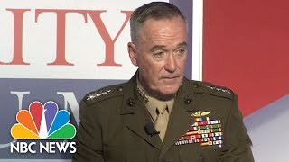 General Joseph Dunford On North Korea: We Can Protect The American People Today | NBC News