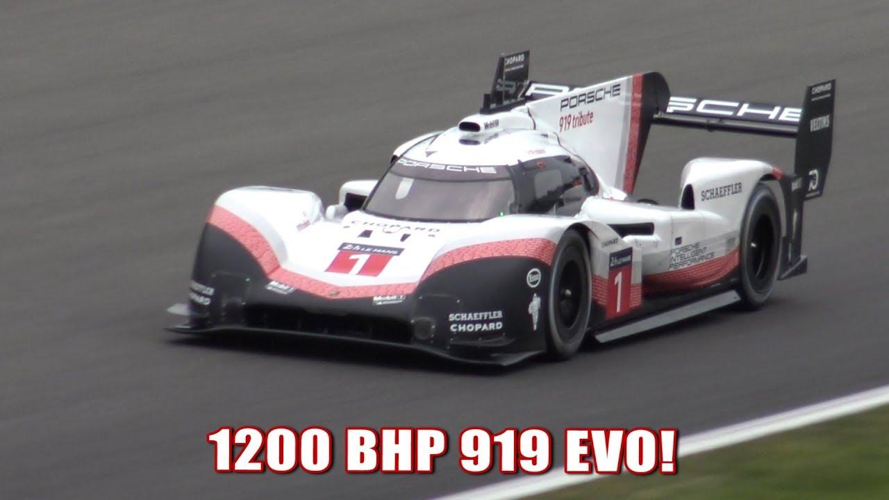 Porsche 919 Evo Tribute At Spa Francorchamps