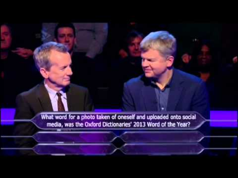 Celebrity Who Wants to Be a Millionaire-28th January 2014