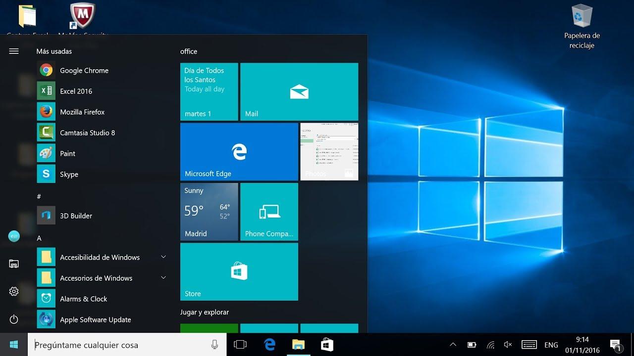 64e422b6545 ¿Cómo usar Windows 10?: Cómo funciona la barra de tareas de Windows 10