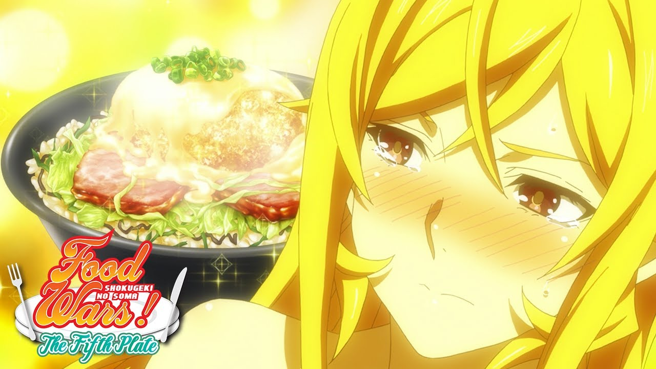 Soma's Final Dish! | Food Wars! The Fifth Plate