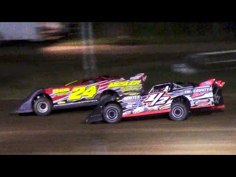 RUSH Crate Late Model Feature | McKean County Family Raceway | 6-16-18