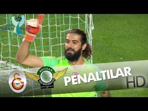 Galatasaray - Akhisarspor Süper Kupa 2018 | Penaltılar