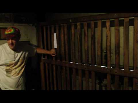 AMAZING antique Otis Freight elevator @ The Roanoke Times Roanoke VA with WOODEN gate