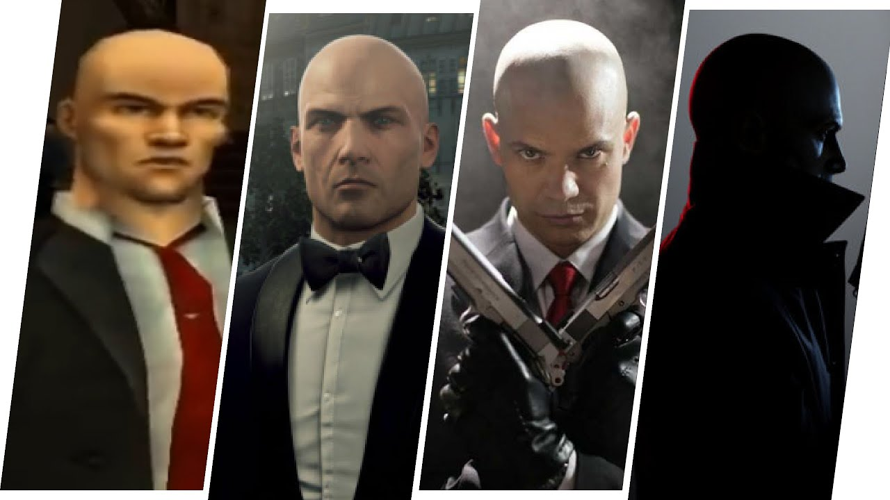 Agent 47 Evolution in Games & Movies (Hitman 2021)