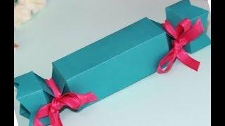 ПОДАРОК СВОИМИ РУКАМИ Маме,Учителю на День Рождения/// Коробочка-Конфета. Video