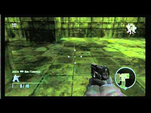 """Wii Online Goldeneye 007 - NL Clan """"In Host Quit Clip"""""""