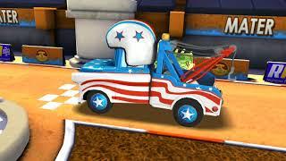 American Tow Mater Vs Komodo & Francesco Bernoulli Disney PIXAR CARS for Kids