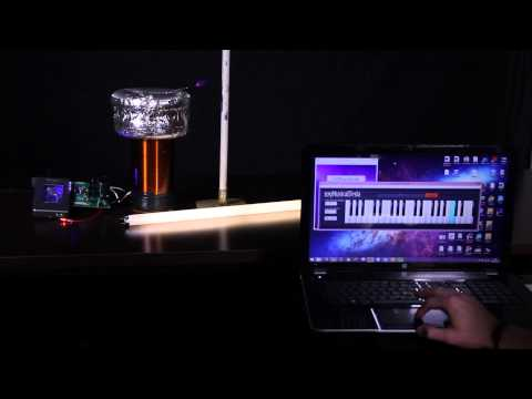 DIY Musical Tesla Coil: 100,000 Volts of Awesome!