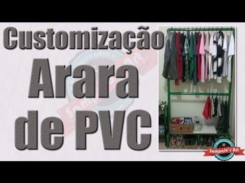 Customização da Arara de PVC