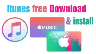 Gambar cover How to free download itunes & install for Windows XP, 7, 8 and 10