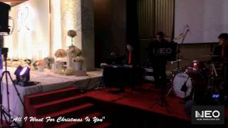 "Neo Music Production-""All I want for Christmas"" Intercontinental Hong Kong Wedding Live Jazz Band"