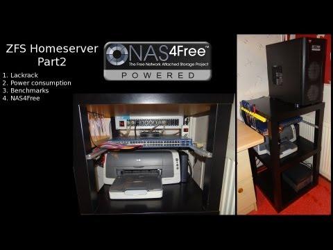 ZFS NAS Homeserver Part 2: Lackrack Power Benchmarks NAS4Free