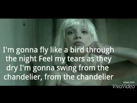 Sia- chandelier (lyrics) - YouTube