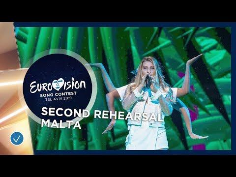 Malta 🇲🇹 - Michela - Chameleon - Exclusive Rehearsal Clip - Eurovision 2019
