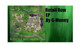 Retail Row | G-Money | A Fortnite parody of Old Town Road