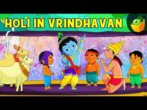 Krishna And Govardhan - Sri Krishna In Tamil - Animated/Cartoon Stories For Kids Travel Video