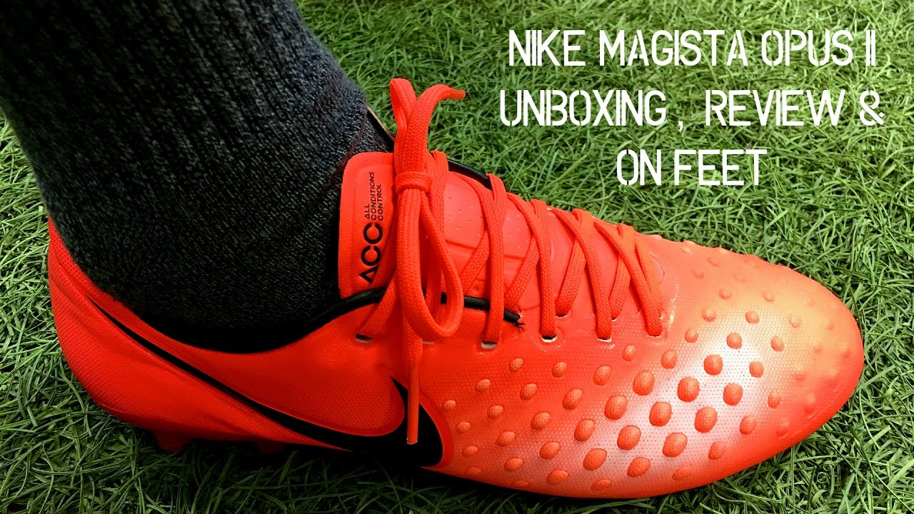 Nike Magista Opus II (Radiation Flare Pack) - Unboxing, Review & On Feet