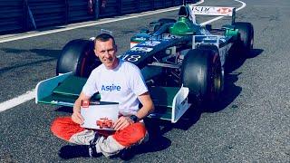Тест драйв болида Формула 1 V10 | Вождение F1 и F2 | Дым колес | Extreme Sound