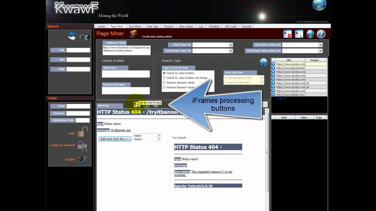 Extract data from iframes in web pages youtube baditri Gallery