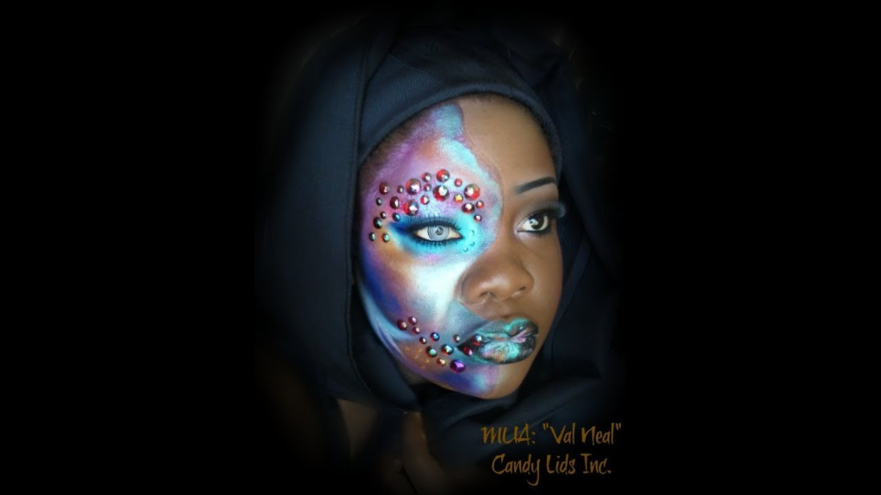 How To Create A Galaxy...Makeup Look