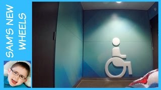Wheelchair Adventures : A journey to the toilet