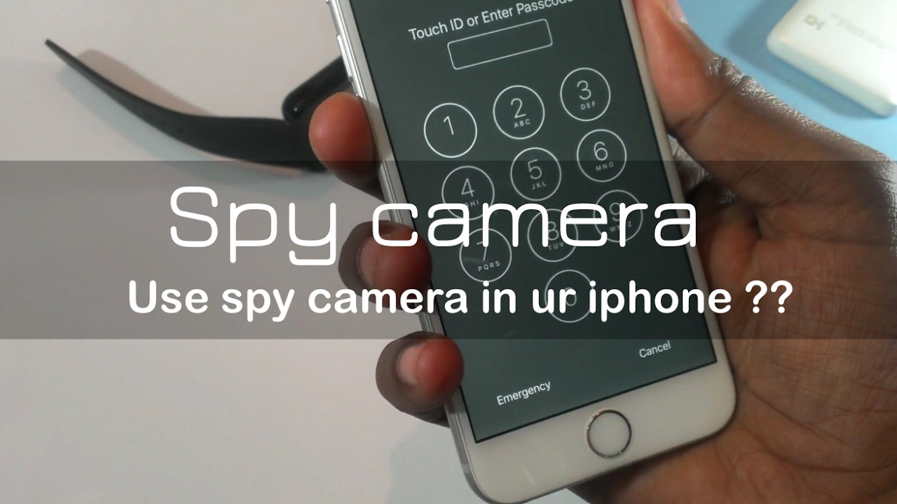 iphone 5 spionage kamera