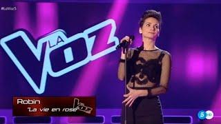 Robin Torres - La vie en rose, Edith Piaf (La Voz 2015)