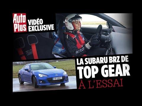 La Subaru BRZ et le nouveau circuit de Top Gear France à l'essai