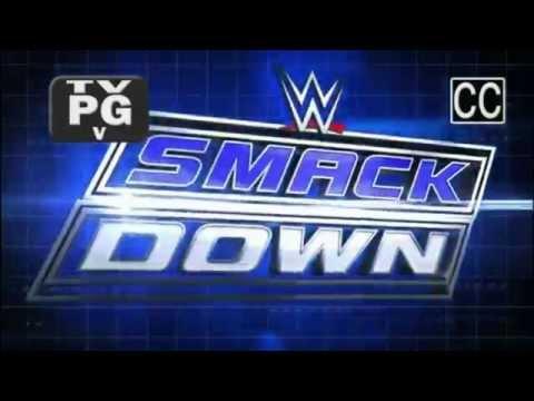 WWE Smackdown Theme With Pyro - CFO$ - Black & Blue (Syfy)