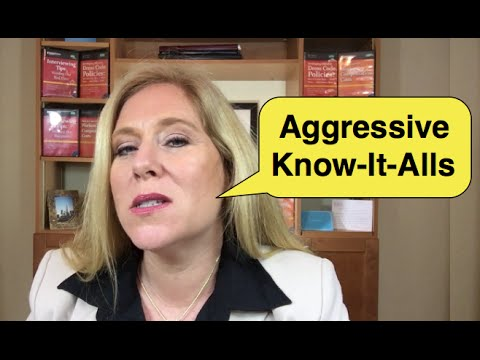 Response to Aggressive KnowItAll  Dealing with Difficult People  6 Secrets Diplomats Use