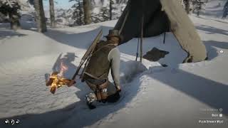 How to cook with using only snow