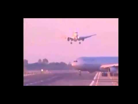Passenger Plane Seconds From Disaster At Barcelona Airport