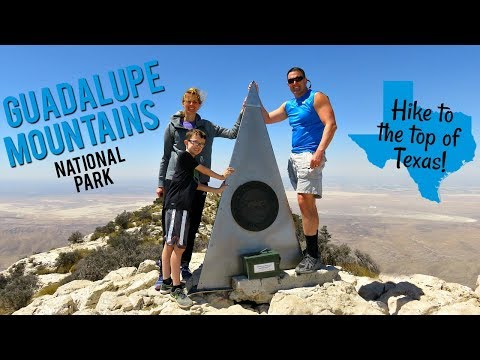 Guadalupe Mountains NP - Hike to the Top of Texas (Vlog-Park#30)