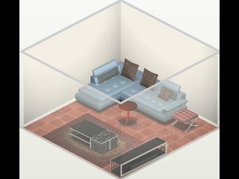 Diseño de habitaciones y viviendas online - YouTube