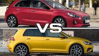 2017 Hyundai i30 vs 2018 Volkswagen Golf