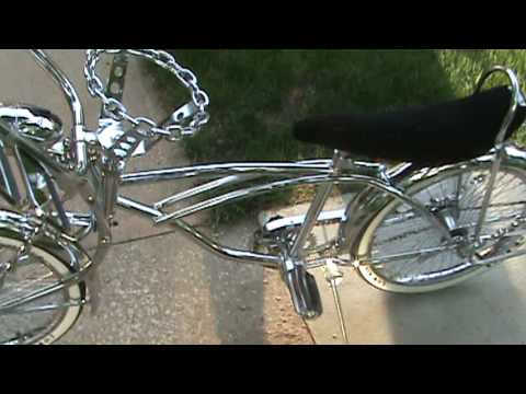 Chrome Lowrider Bike Youtube