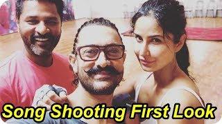 Thugs of Hindostan | Aamir Khan | Katrina Kaif Song Rehearse with Prabhudeva