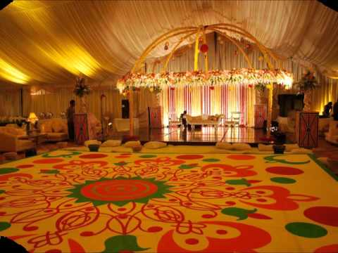 Pakistan wedding stage decorations youtube for Room decoration ideas in pakistan