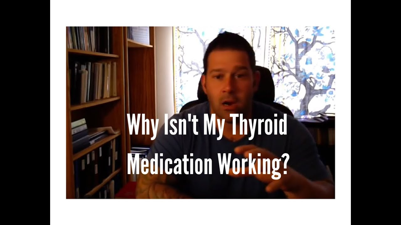 hypothyroidism why isn 39 t my thyroid medication working youtube. Black Bedroom Furniture Sets. Home Design Ideas