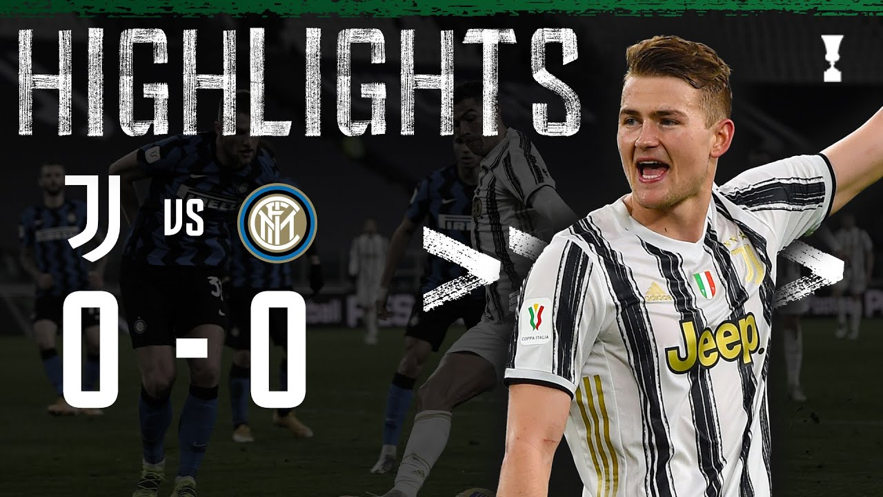 Juventus 0-0 Inter | Juventus Advance to Cup Final ! | Coppa Italia Highlights