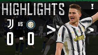 Juventus 0 0 Inter Juventus Advance to Cup Final Coppa Italia Highlights