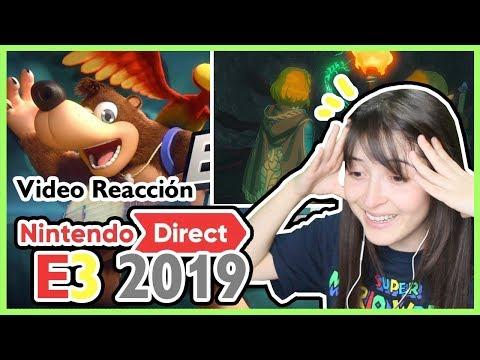 Nintendo E3 2019 - Banjo-Kazooie y Zelda: BOTW - Video Reacción!