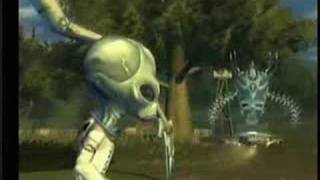 Funny clips from Destroy All Humans