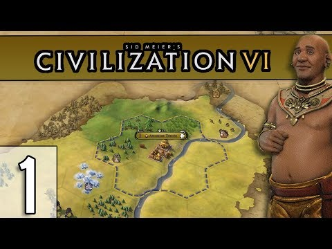 WELCOME TO ANGKOR... THOM? - Civilization 6 Gameplay (1440p) - Khmer - Part 1