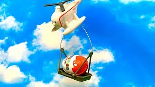 Surprise Egg and Hektor the Helicopter  अचरज बच्चों के कार्टून